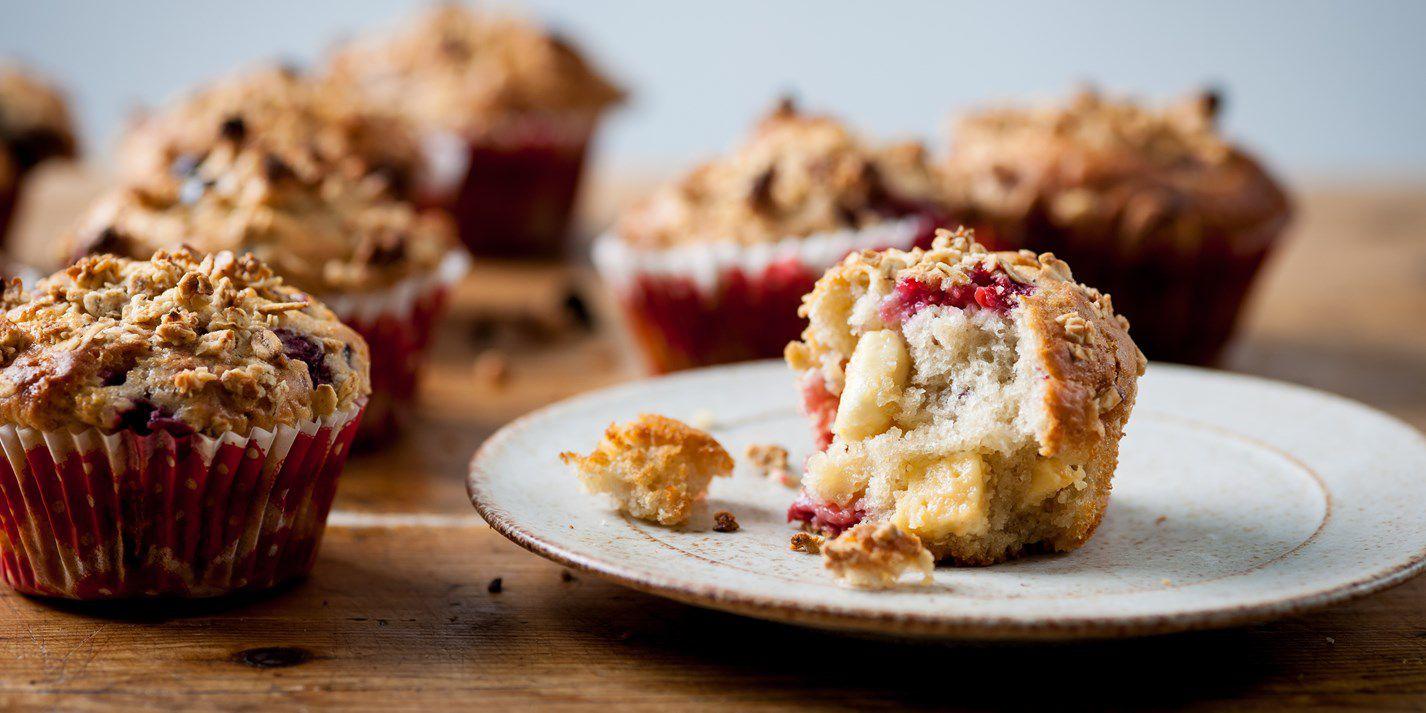 Кекс с шоколадом, вишнями и лесными ягодами от Энди Маклиша