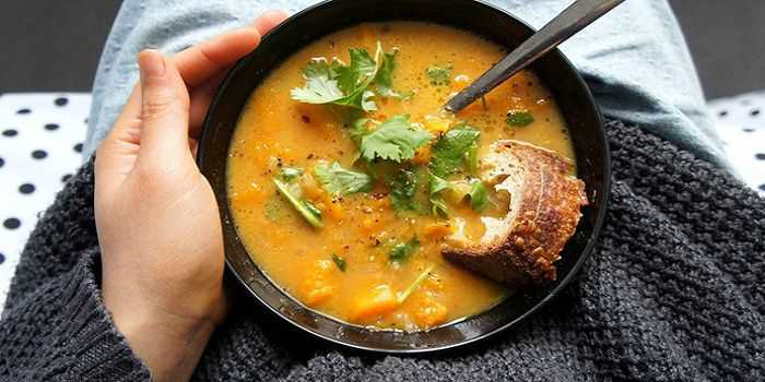 Тыквенный мисо суп