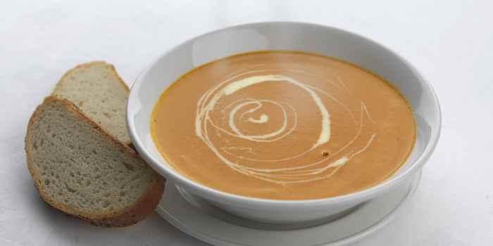 Жареный томатный суп