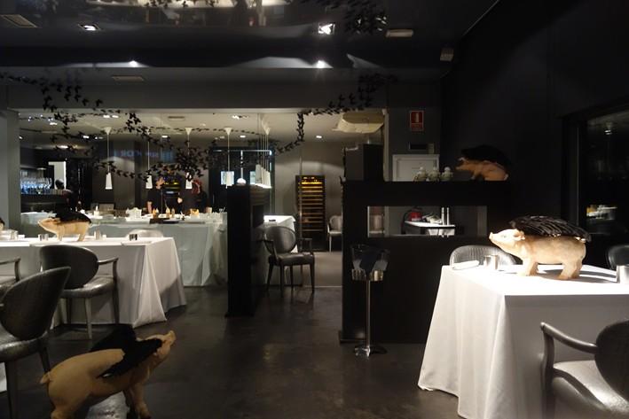 Ресторан DiverXO Мадрид