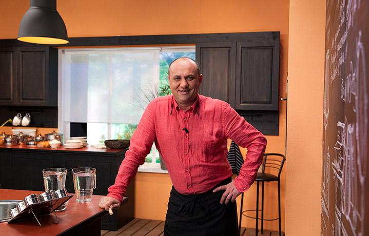Илья Лазерсон (шеф-повар, автор книг, телеведущий)