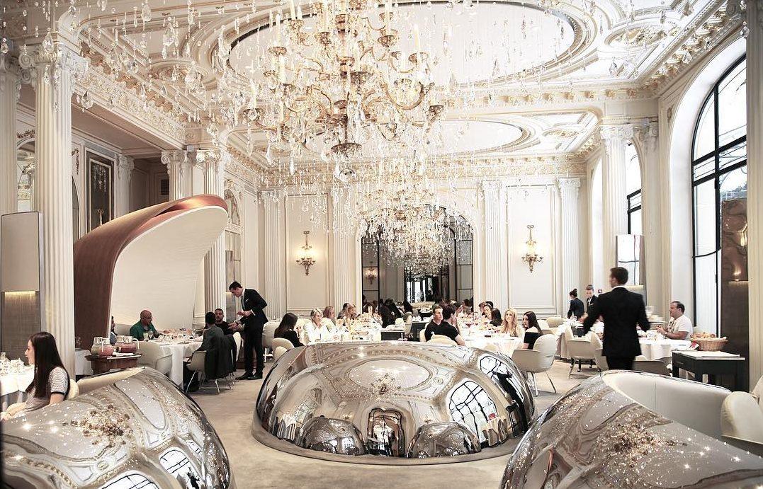 Ресторан Alain Ducasse Au Plaza Athenee (Франция)