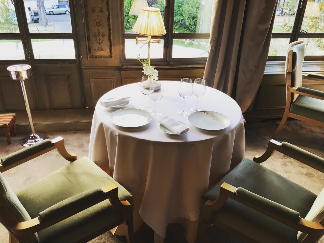 Ресторан Pavillon LeDoyen (Франция)