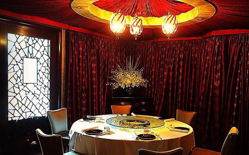 Ресторан T'ang Court в Шанхае (Китай)